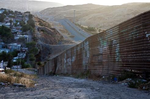 Border wall between México & USATijuana ,Baja California