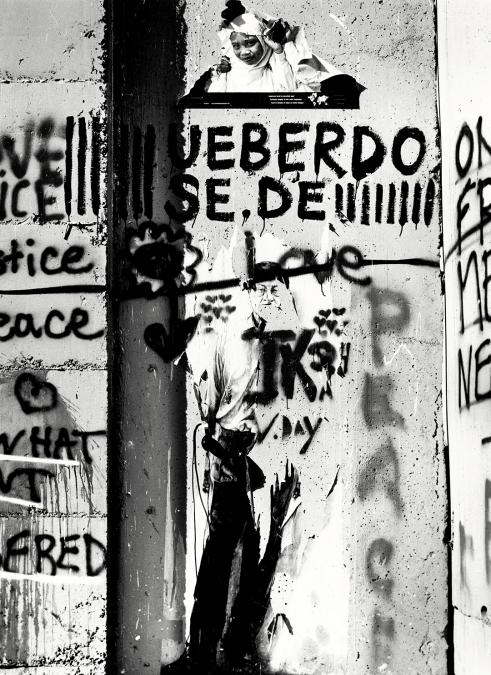 Bethlehem, West Bank 2010, Palestinian poet Mahmoud Darwish.