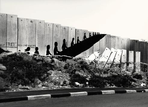 "Bethlehem, West Bank 2010, The Israeli West Bank barrier ""the wall"""
