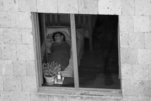 Taking a nap Yerevan, Armenia
