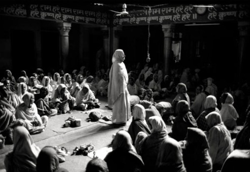 Krishna Widows Vrindavan, Uttar Pradesh, India
