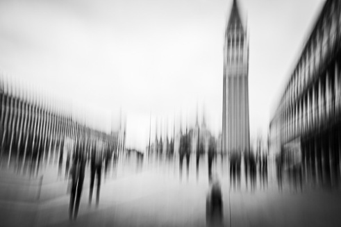 Monochrome Abstracts of Venice, Italy 2016