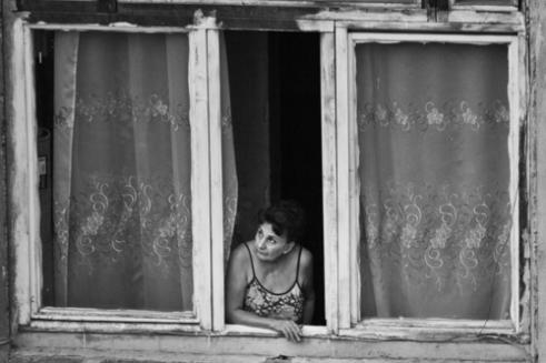 Watching the neighbors Yerevan, Armenia