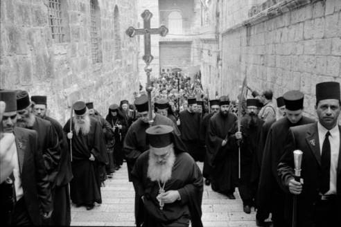 Easter Sunday Jerusalem, Israel