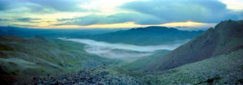 Midnight Sunset, Denali National Park Alaska