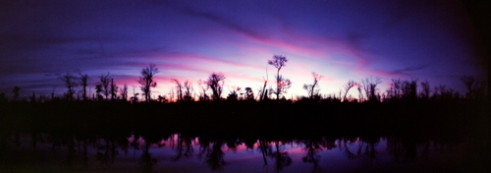 Sunset in the Mobile-Tensaw Delta Chickasaw, Alabama