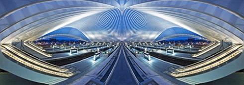 Calatravanism LXX Liege Guillemins, Belgium