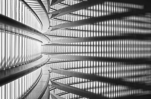 Visions Calatravanism Liege Guillemins, Belgium