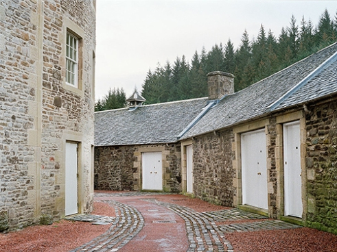 Originally part of the mill, the waterhouses are now self catered apartments for the New Lanark hotel.
