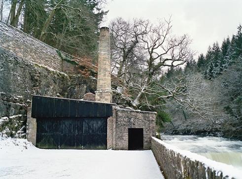 Dundaff Linn waterfall.