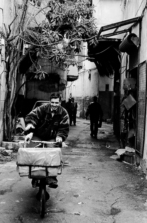 One of the streets of Old Damascus, one of the oldest continuously inhabited cities in the world. 2010/02/04
