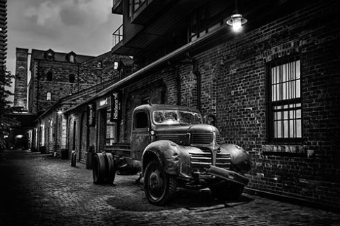 Distillery District Toronto, Canada