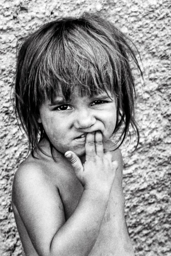 Child This Baby belonged to a Gypsy family Vilanova i la Geltrú, 1991