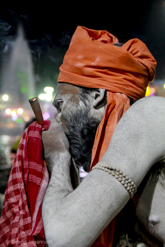 Edge of Humanity Magazine - Night time shripra during Kumbhmela 2016