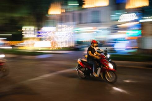 Racing in Ho Chi Minh City, Vietnam