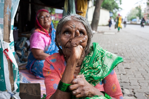 Koruna is name of a project that is based on mobil cilinic for treatment of people who effected by leprosy in Mumbai's islams, India, Aug 2014