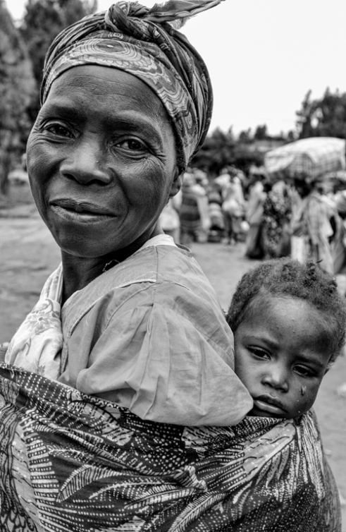 Grandmother, Nadzanale Village, Malawi