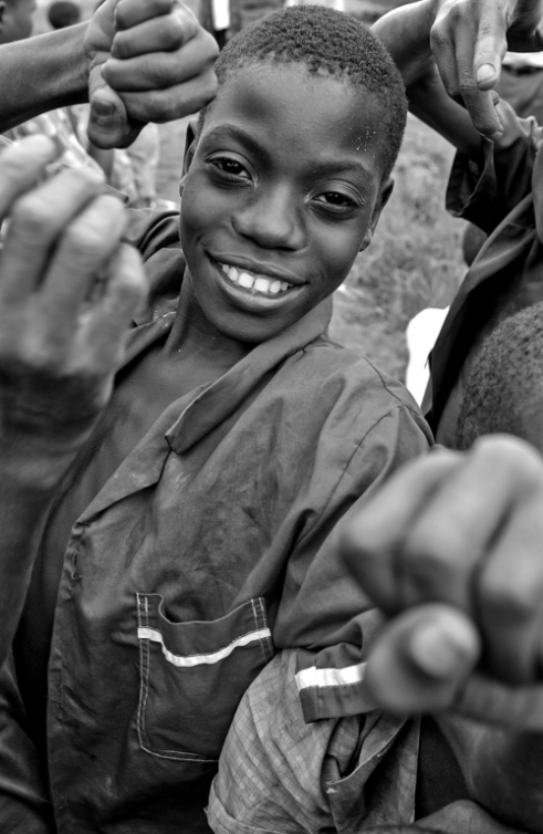 Give me Five Chiumbangame Village, Malawi