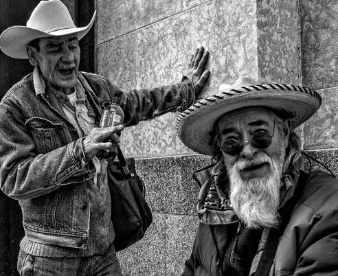 Today you meet real cowboys Calgary