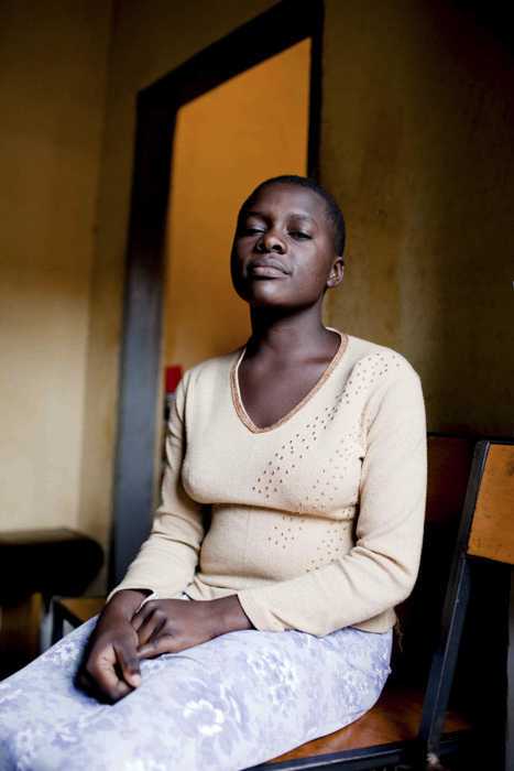 Sara, was raped by her uncle at 8 years old. She was outcast for catching a disease as a result of that rape. She received help from Makerere Women's Development Association (MAWEDA), Kampala. She now is a campaigner herself.