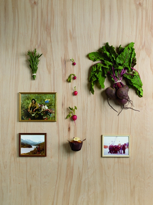 Rosemary, Radish, Veronica's Father, Veronica's Mother, Banana Muffin, The men from the oil fields in Alaska.