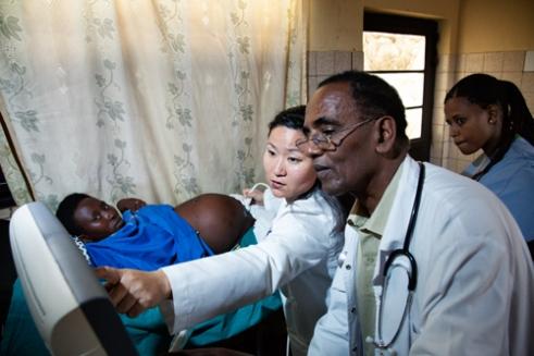 Ultrasound Maternity Ward, Kanombe Hospital, Kigali, Rwanda