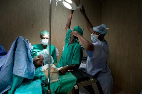 Fistula Patient