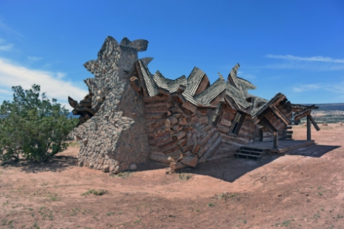 Deconstructed Log Cabin