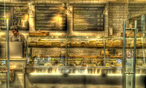 Benugo Resturant St Pancras International Station