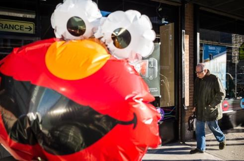 Smile Elmo! 9th Ave