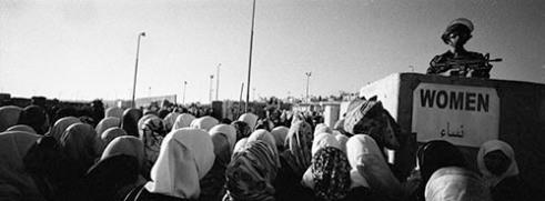 Qalandia Crossing ,West Bank 2009