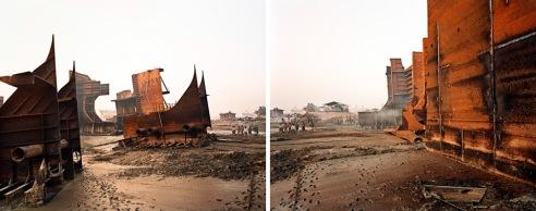 Diptych Chittagong, Bangladesh 2000