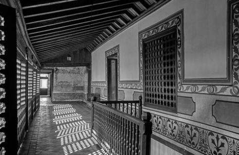 Corridor in Casa Diego Velazquez de Cuellar Santiago de Cuba