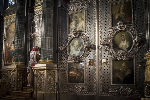 Kazan Cathedrale Saint Petersbourg, Russie
