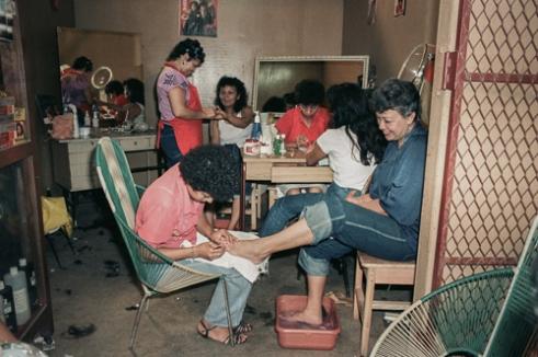 Beauty parlor in El-Mercado Oriental.