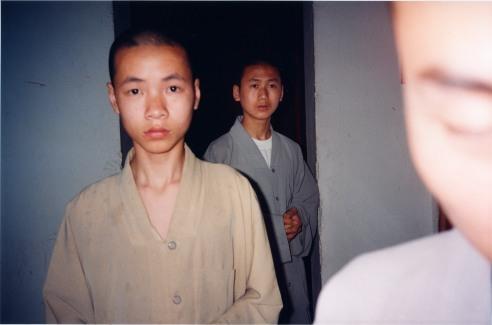 Buddhist Monks Musan Island, Anhui