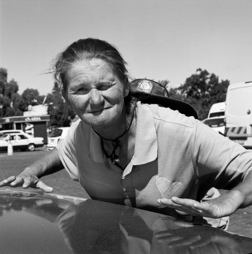 Corrie Saayman-parking attendant Oudsthoorn, 2013