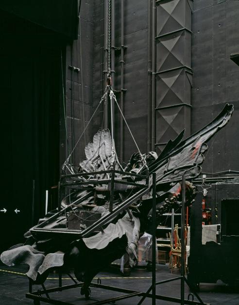 "Neue Flora, Hamburg, 2015 Phantom of the Opera Sidestage ""Fallen Angel"""