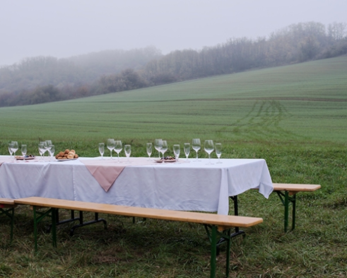 Lunch Table in Hungary