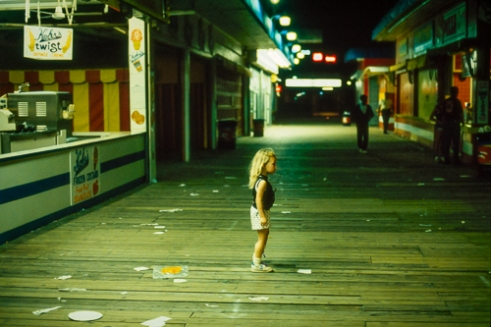 Nightfall Seaside Heights, NJ