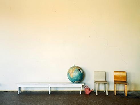 -Kindergarten, Pyramiden, Spitsbergen