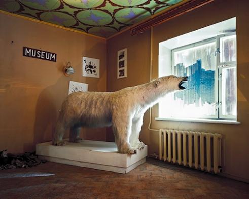 -Museum, Pyramiden, Spitsbergen