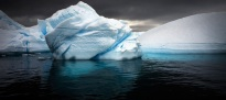 Rounded Bergy Bit Antarctic Peninsula February 2010