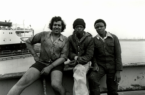Sailors on Greek Vessel