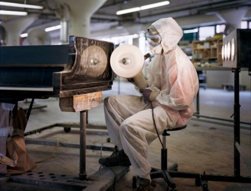 Lionel Greenaway Polyester Polishing