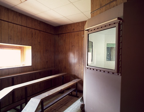 Gas Chamber Observation Room, Missouri State Penitentiary, 2012