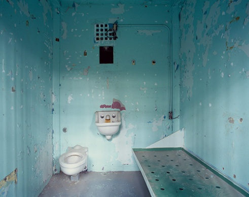 Cell, B Block, Wyoming Frontier Prison, 2007