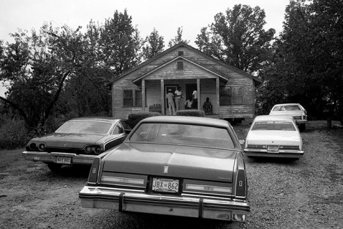 Junior Kimbrough's house Holly Springs, Mississippi