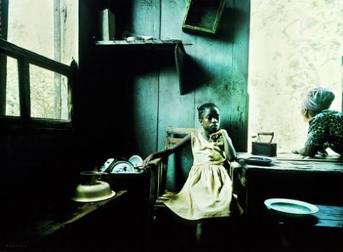 Creole girl. Sierra Leone, West Africa