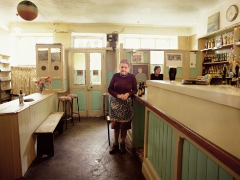 Mrs O'Connor landlady of 'Bar' Dingle Co Kerry, Ireland